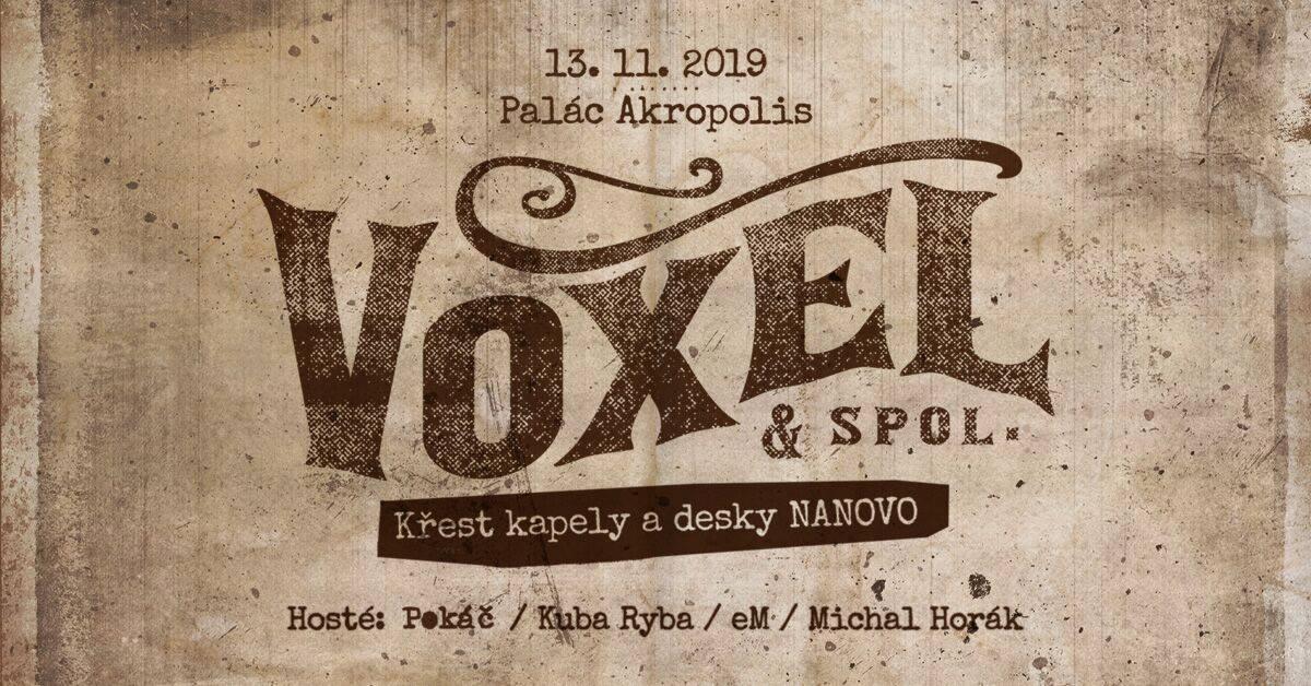Voxel – křest CD 2019 – pozvánka